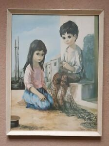 The Fisherman's Children -  Large Print by A Dallas-Simpson