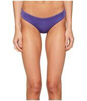 Onia 166737 Womens Lily Bikini Bottom Swimwear Solid Deep Royal Size Small