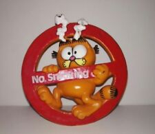 "Garfield PVC ""No SMOKING,Bully 1981 UNITED FEATURE"