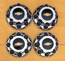 4X 2000-2008 Chevy Silverado 2500 8 LUG WHEEL HUB CENTER CAPS OEM# 9597991