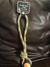 Bow Wow Pet Knotted Rope & Ball Toy For Dogs