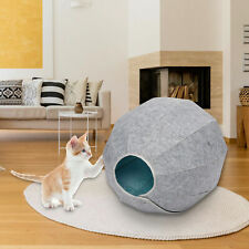 3-in-1 Rolled up Cat house felt & cat cave cat bed cat toy Sleeping Mat