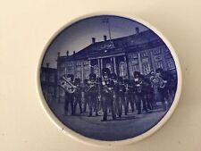 """Royal Copenhagen Denmark Vagtparaden 69/2010 Mini Plate, 3"""" Diameter"""