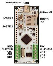 LED-Player-M Multitalent, für PWM LED Stripes und Panels bis 2048 LEDs NeoPix