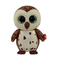 TY Beanie Boos Mini Boo SAMMY the Brown Owl Series 1 Collectible Figure (2 inch)