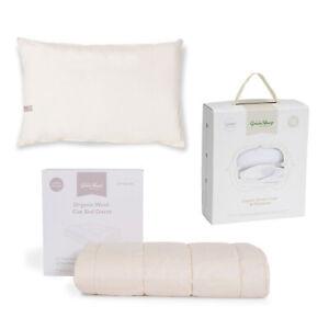 The Little Green Sheep Duvet & Pillow Baby Child Bundle White
