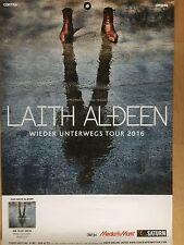 Laith al Deen 2016 Tour-ORIG. CONCERT POSTER -- manifesto concerto a1 NUOVO