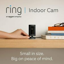 Ring Indoor Cam | Compact Plug-In HD security camera, Works with Alexa - Black