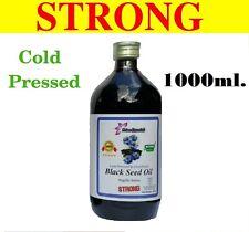 RAW BLACK SEED OIL - BLACK CUMIN (NIGELLA SATIVA) COLD PRESSED UNREFINED 1L.