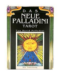 Tarotkarten Orakelkarten Wahrsagerkarten Das neue Palladini 78 Karten Vintage