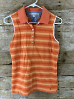 Tommy Hilfiger Women's Large Striped Shirt Sleeveless Casual Top