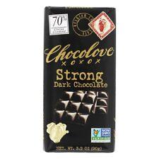 Chocolove - Dark Chocolate Bar Strong  - 3.2 oz.