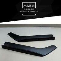 62CM Car Bumper Spoiler Rear lip Canard Diffuser (ABS) Modified Winglet