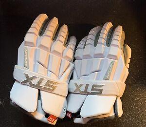 STX RZR Lacrosse Gloves Slightly Used