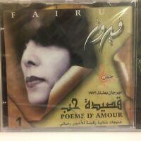 Fairuz (Artist) - Poeme D' Amour   CD Arabic Music         19