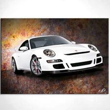 Porsche 911 Sportwagen Bj 2011 Bild Leinwand Bilder Wandbilder Kunstdruck D0309