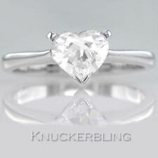 Heart Engagement Very Good Cut Fine Diamond Rings