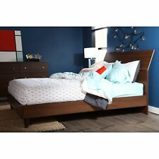 South Shore Olly Mid-Century Modern Queen Platform Bed Collectors item