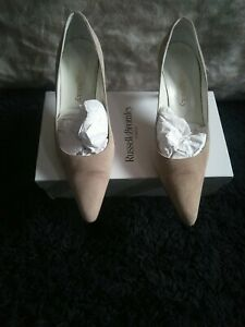 Russell & bromley Court suede Shoes size Uk6/39. In ex Con.C DSCRPTN RRP £95.50.