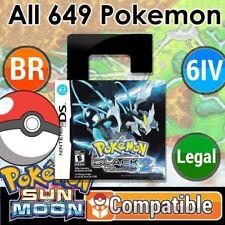 Unlocked Pokemon Black 2   All 649 Shiny Pokemon + Max Items   DS 3DS