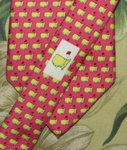 Mens VINEYARD VINES Masters Printed Silk Neck Tie