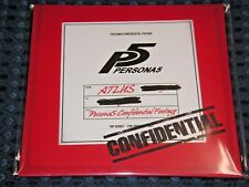 Persona 5 Special Limited Movie Blu-ray & DLC P4 Dancing All Night BONUS JAPAN