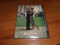 Dave (DVD, Widescreen/Full Frame 1998) Kevin K Line, Sigourney Weaver NEW