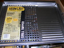 Man Law BBQ Grill Topper BRAND NEW WITH TAG NEVER USED A MUST FOR ANY BBQ