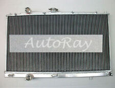 Aluminum Radiator for Mitsubishi Lancer EVO 4 5 6 IV V VI Manual CP9A/CN9A 96-01