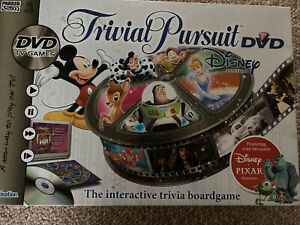 Trivial Pursuit Disney Edition DVD Board Game By PARKER