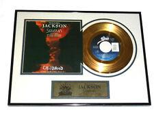 authentic MICHAEL JACKSON Scream 24kt gold record ltd edition 810/3000 FRAMED