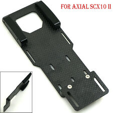 Carbon Fiber Battery Mounting Plate for 1/10 RC Crawler Axial SCX10 II AX90046