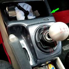 Carbon Fiber Color Inner Gear Shift Cover Panel Trim For Honda Civic 2006-11 MT