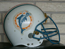 Original Game Used NFL Miami Dolphins Helmet Late 1970 's or Early 1980 's RARE
