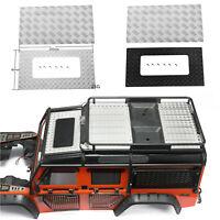 Metal Anti-skid Plate Decoration for DJ TRX4 Land Rover Defender RC Car Model