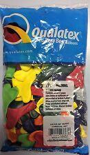 "Qualatex 6"" Heart Shaped Balloons  Carnival Assortment"