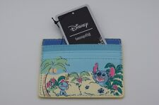Loungefly Disney Lilo & Stitch w Scrump at Beach CardHolder ID Card Wallet