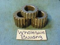 "SPUR GEAR, 18 TEETH, 7/8"" BORE, 1-1/2"" OD, 1/2"" FW, LOT OF 5"