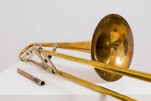 Hans Kromat CL139 Tenor Posaune Trombone Tromba wie Conn 8h Bach 42