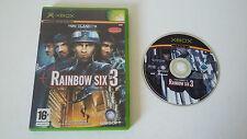 TOM CLANCY'S RAINBOW SIX 3 - MICROSOFT XBOX- JEU X BOX