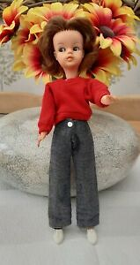 Vintage 60's Made in England Sindy Doll with Auburn Hair. Hospital Required