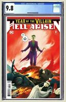 Year Of The Villain Hell Arisen #3 CGC 9.8 2nd Print 1st Full Punchline Presale