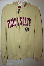 NCAA Florida State FSU Seminoles Full Zip Hoodie Sweatshirt Large EUC