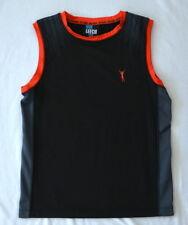 GUY LEECH boys tank TOP singlet Size 8 GLEN IRIS sport training running fitness