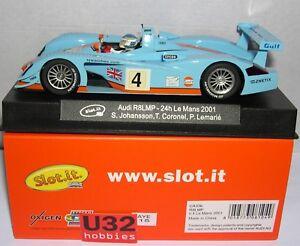 Slot.it CA33B Audi R8 Lmp #4 24H.LA Mans 2001 Gulf S.