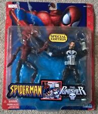 Marvel Spiderman and Punisher Special Edition rare twin pack