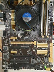 Intel i5 4670k cpu, Asus Z87-A motherboard and 8GB Kingston ram bundle