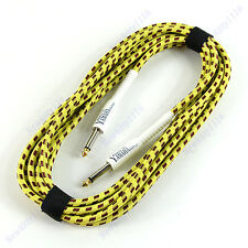 5M Chord Guitar Cable Cord Effect Patch Woven Planet Wave For Aspecial Yamaha