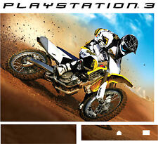 PlayStation 3 PS3 Motocross Moto X Fahrrad Vinyl Sticker Hülle