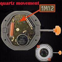 Pour MIYOTA 1M12 LTD QUARTZ Watch Movement Part Date at 3/6' REPLACE 6M12